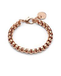 1AR By Unoaerre Metallic Venetian Link Bracelet