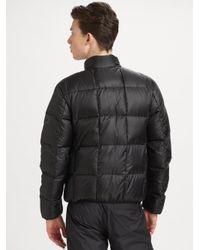 Burberry Sport - Black Puffer Jacket for Men - Lyst