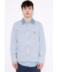 Carhartt - State Blue Bleached Jacket for Men - Lyst