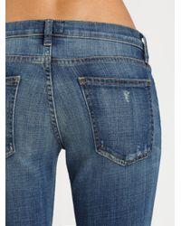 Current/Elliott Blue The Beatnik Jeans
