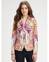 Lafayette 148 New York | Multicolor Kamala Single-button Jacket | Lyst