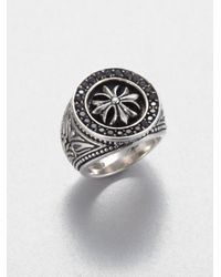 Scott Kay | Metallic Sterling Silver Cross Ring for Men | Lyst