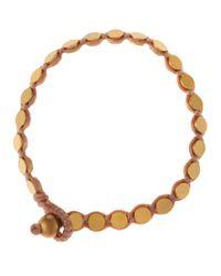 Serefina - Metallic Disc Bracelet for Men - Lyst