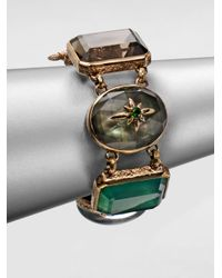Stephen Dweck - Multicolor Semiprecious Multistone Collectors Bracelet - Lyst