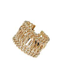 TOPSHOP | Metallic Premium Chunky Chain Bracelet | Lyst