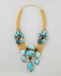 Alexis Bittar | Metallic Cordova Antiqued Large Necklace | Lyst