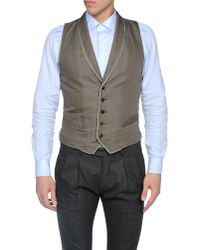 Armani Green Waistcoat for men