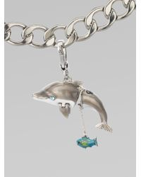 Juicy Couture - Metallic Dolphin Charm - Lyst