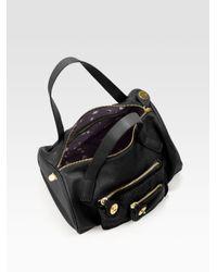 Marc By Marc Jacobs - Black Pocket Lambskin & Haircalf Duffle Bag - Lyst