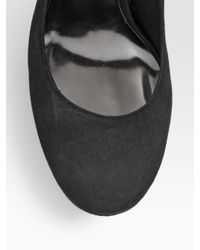 Tory Burch | Gray Mandy Suede High-heel Pumps | Lyst