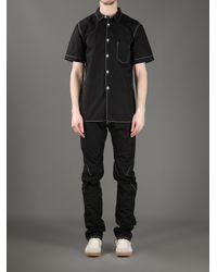 Comme des Garçons Black Contrast Stitch Jeans for men