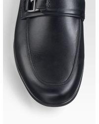 Ferragamo - Black Ferragamo World Tempo Loafers for Men - Lyst