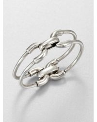 Giles & Brother | Metallic Double Cortina Bracelet | Lyst