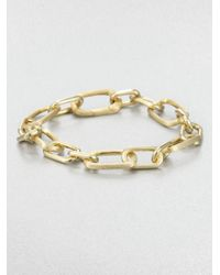 Marco Bicego | Metallic 18k Gold Chain Link Bracelet | Lyst