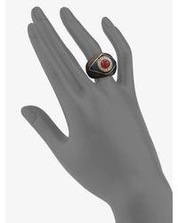 Oscar de la Renta - Metallic Russian Gold Ring - Lyst