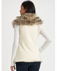 Twisted Heart   Natural Aspen Faux-fur Vest   Lyst
