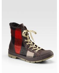 Converse | Brown Chuck Taylor Woolrich Outsider Boots for Men | Lyst