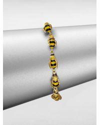 Delfina Delettrez | Metallic To Bee Or Not To Bee Bracelet | Lyst