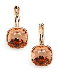 BaubleBar | Metallic Cushion Peach Drops | Lyst