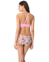 Free People - Pink All For U Bra - Lyst