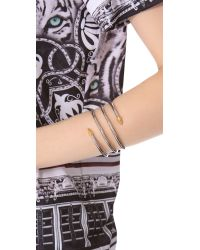 Rachel Zoe Metallic Bear Claw Bracelet