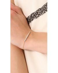 Shashi - Metallic Sofia Chain Bracelet - Lyst