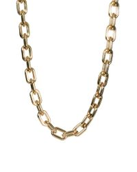 ASOS Collection Metallic Limited Edition Long Open Link Necklace