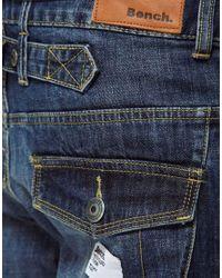 Bench - Blue Regular Jeans for Men - Lyst
