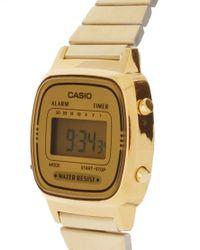 G-Shock - Metallic Mini Digital Watch La670wega-9ef - Lyst