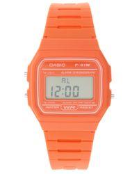 G-Shock | F11-4a2ef Digital Orange Watch | Lyst