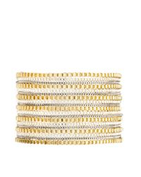 French Connection - Multicolor Multi Row Chain Bracelet - Lyst