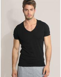 G-Star RAW Black G Star Two Pack V-neck T-shirt for men