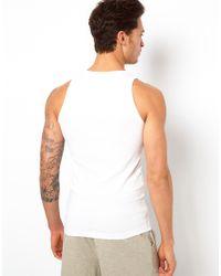 G-Star RAW - White G Star Two Pack Vest for Men - Lyst