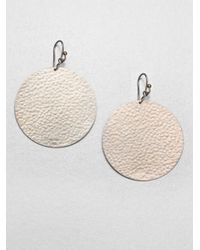 Gurhan | Metallic Lush Sterling Silver Flake Drop Earrings | Lyst