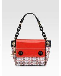 MILLY   Red Tweed Bag   Lyst