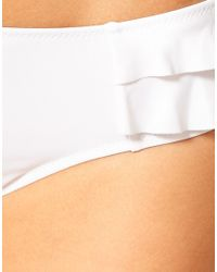Panache White Cleo Lucille Bikini Bottom