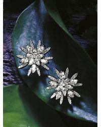 Roberto Coin White Gold Diamond Star Earrings