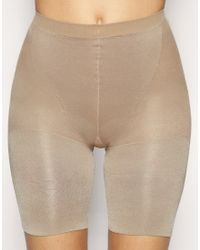 Spanx | Natural Super Power Panties Thigh and Tummy Control | Lyst