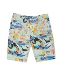 Volcom - Multicolor Fruckin V4s Hybrid Landtowater Shorts for Men - Lyst