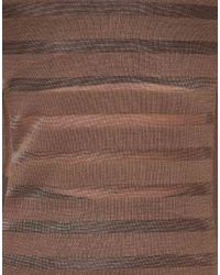ASOS Collection | Green Asos Maxi Dress in Sheer Stripe | Lyst