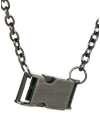 Cheap Monday - Metallic Necklace for Men - Lyst