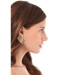 Gemma Redux Multicolor Colorful Dangling Earrings