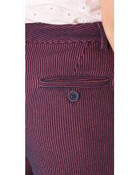 Marc By Marc Jacobs - Purple Seersucker Knit Shorts - Lyst