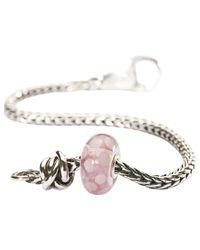 Trollbeads Pink Luck & Joy Charm Bead And Bracelet