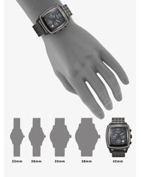 Breil Black Square Chronograph Watch