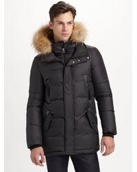 Mackage | Black Ferris Matte Puffy Down Coat for Men | Lyst