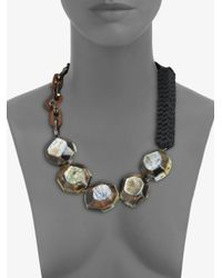 Weekend by Maxmara | Multicolor Beaded Necklace | Lyst