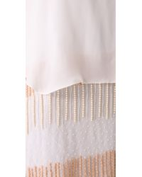 Parker - White Grace Dress - Lyst