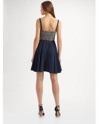 Rebecca Minkoff Black Mara Bustier Dress