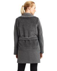 Weekend by Maxmara - Gray Palato Alpaca Wool Jacket - Lyst